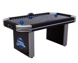Triumph Lumen-X Lazer 6' Interactive Air Hockey Table Featuring All-Rail LED Lighting and In-Game Music for Sale in Houston, TX