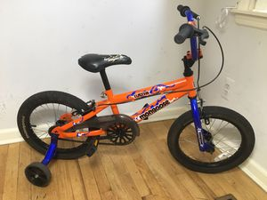"Bike!! Mongoose 16""Wheels with Training Wheels!! for Sale in West Orange, NJ"