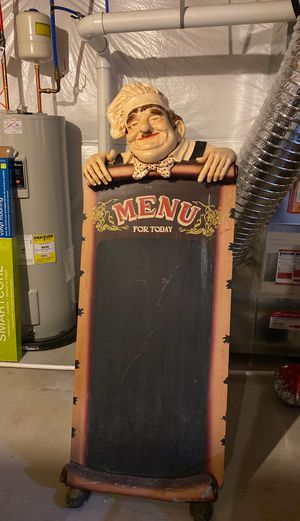 Restaurant Chalk Board for Sale in Smyrna, DE