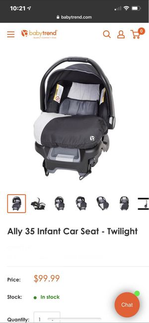 Infant car seat base and stroller for Sale in West Dundee, IL