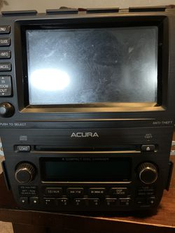 Acura MDX Factory Radio Used Condition for Sale in San Antonio,  TX
