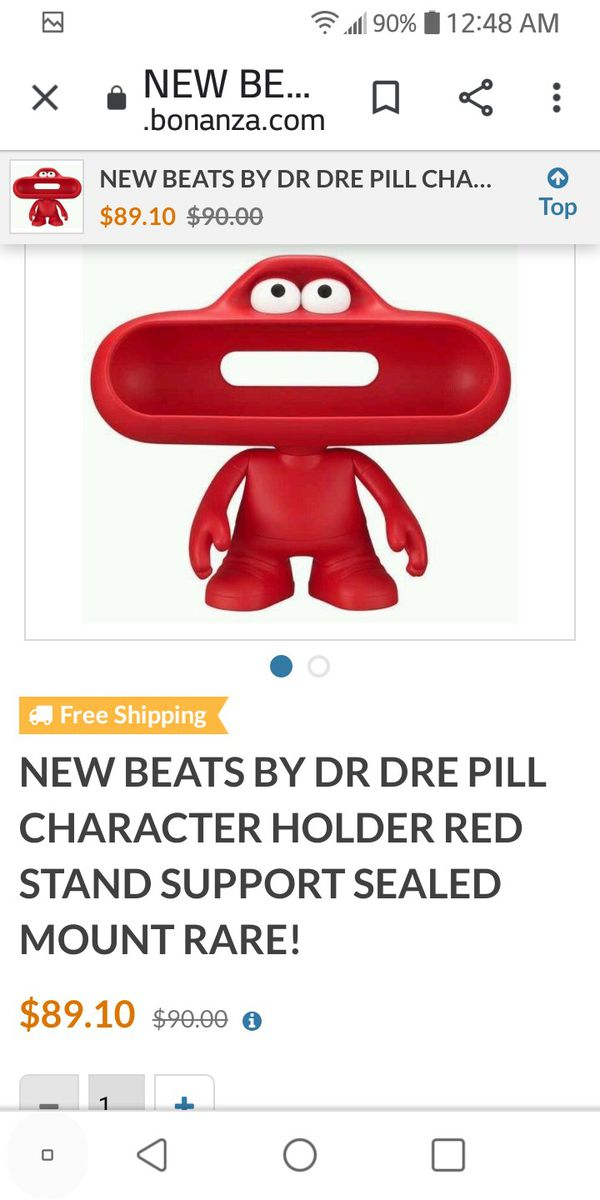 Holder for Beats Dre Bluetooth speaker