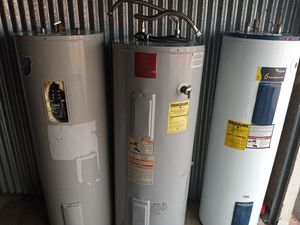 Water heaters electric 50 gallon for Sale in Forest Hill, TX