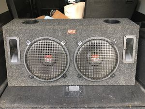 Sub woofer and amplify for Sale in Fairfax Station, VA
