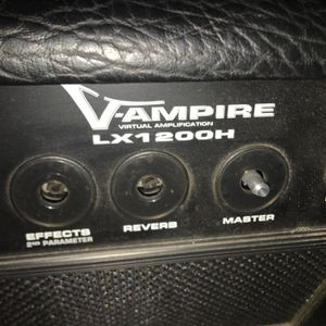 Behringer 1200lxH Stereo 120 Watt Modeling Guitar Head for Sale in Cumberland, RI