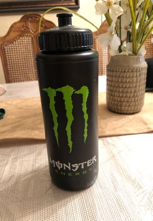 Monster Energy water bottle for Sale in Mansfield, TX