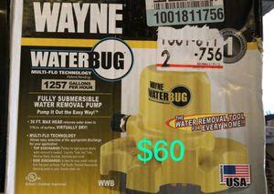 Wayne water removal pump for Sale in Bakersfield, CA