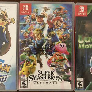 3 Nintendo Switch game Bundle! for Sale in Kearny, NJ