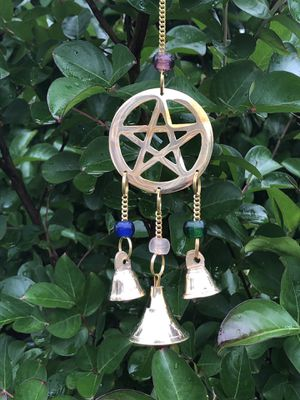 Small Beaded Brass Wind Chime Sun Catcher for Sale in Nashville, TN