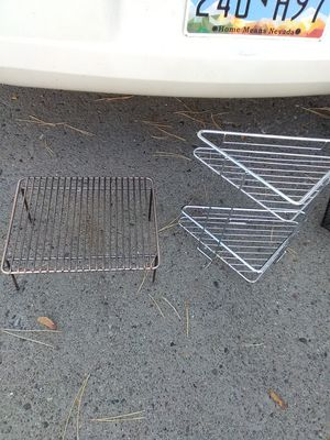 Two Small Metal Shelves for Sale in Sparks, NV