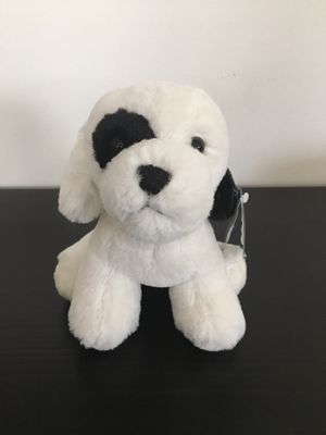 Lil Black and White Spotted Puppy Stuffed Animal for Sale in Wrightstown, NJ