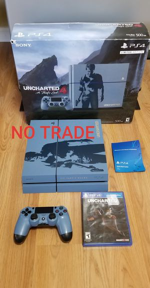 UNCHARTED Ed. PS4 BUNDLE, FIRM PRICE, PERFECT CONDITION, READ DESCRIPTION FOR OPTIONS for Sale in Garden Grove, CA