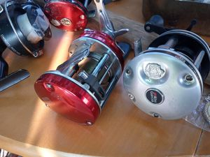 4 Ambassedeur and Garcia Mitchell Fishing reels for Sale in Brownsville, TX
