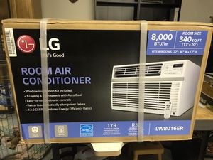 LG Window AC Unit New Never Used for Sale in Everett, WA