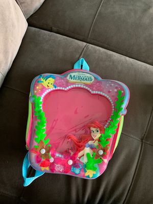 Small little mermaid backpack for girls for Sale in Royal Palm Beach, FL