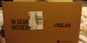 UNOPENED BRAND NEW ASUS CHROMEBOOK C302C NOTEBOOK PC REVERSIBLE TOUCHSCREEN for Sale in Boston, MA