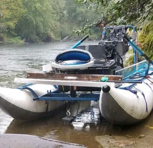 Makenzie River Pontoon Boat for Sale in Silverdale, WA