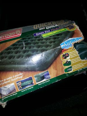 Queen air mattress with pump for Sale in Glen Burnie, MD