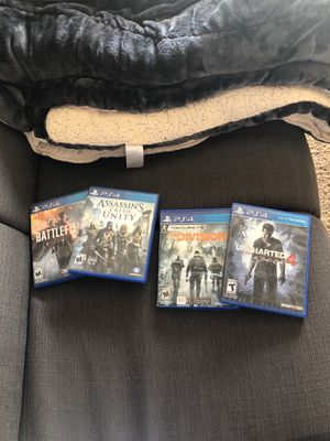 Ps4 games for Sale in Paso Robles, CA