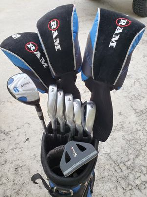 Nice Set Ram G Force Golf Clubs Right for Sale in Boca Raton, FL