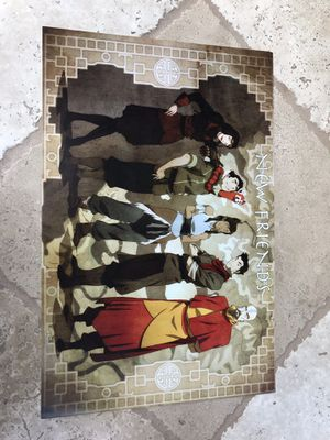 """AVATAR KORRA """"NEW FRIENDS"""" poster!!! 11x17 for Sale in San Diego, CA"""