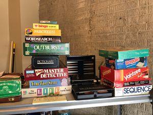 Board games! for Sale in Fairfax, VA