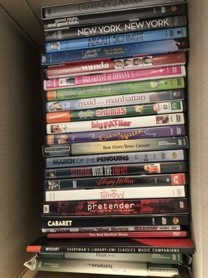 Box of DVDs 20+ for $15 for Sale in Kirkland, WA