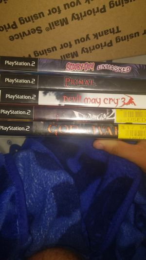 5 PS2 games MAKE OFFER for Sale in Ruskin, FL