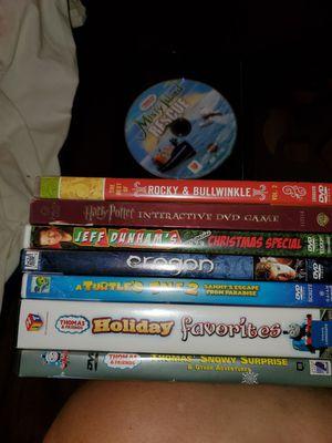 9 kids dvds for $5.00 for Sale in Davenport, FL