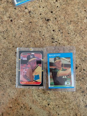 Mark McGwire Rookies for Sale in Upland, CA