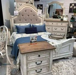 Same Day Delivery in STOCK 👉🏻💥$39 Down Payment~Brand 🆕 Realyn Bedroom Set New Brand 02 for Sale in Alexandria,  VA