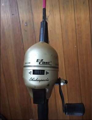5ft fishing rod with reel for Sale in Queens, NY