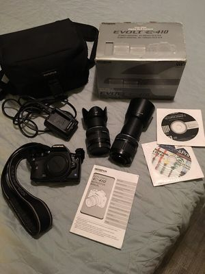 Olympus E- 410 EVOLT Camera with 2 Lens! for Sale in Irvine, CA