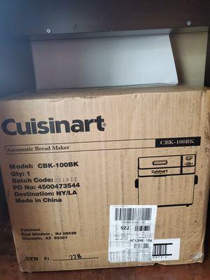 New cuisinart bread maker. CBK-100BK for Sale in Fullerton, CA