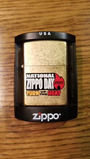 2005 Zippo lighter with logo for Sale in Pflugerville, TX