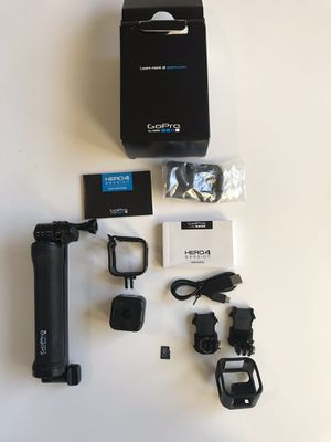 GoPro Hero 4 Session complete kit with stick and 64GB microSD memory for Sale in Fort Lauderdale, FL