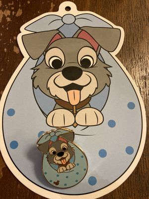 Disney (Lady and the) Tramp Hong Kong Disney Game Pin & Tag for Sale in Coto de Caza, CA