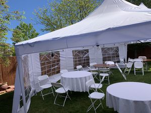 party tent rent ( free installation) for Sale in Aurora, CO