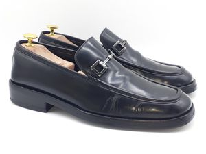 GUCCI Men's Black Leather Bit Loafers US 10 Slip On Dress Shoes $540 110 1460 D for Sale in Hayward, CA