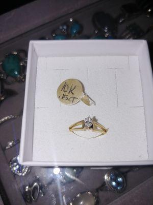 10k .15ct diamond ring for Sale in Omaha, NE