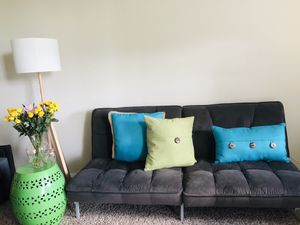 Great futon turns into a bed for Sale in Alexandria, VA