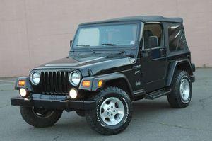 2002 Jeep Wrangler for Sale in Fredericksburg, VA