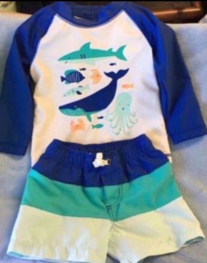 Baby boy swimsuit 👶🏼 (2pcs) for Sale in Lake Forest, CA