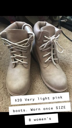Ash pink size 8 women's boots for Sale in Fairfax, VA