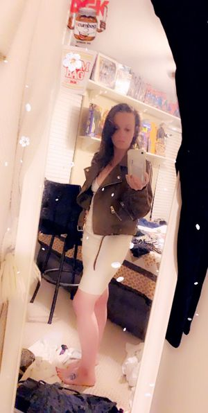 Suede jacket with tag in pocket and white dress sold separate or together for Sale in Saint Charles, MO