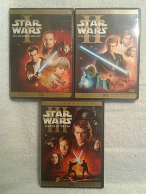 Star Wars DVD Movies for Sale in Bloomington, CA
