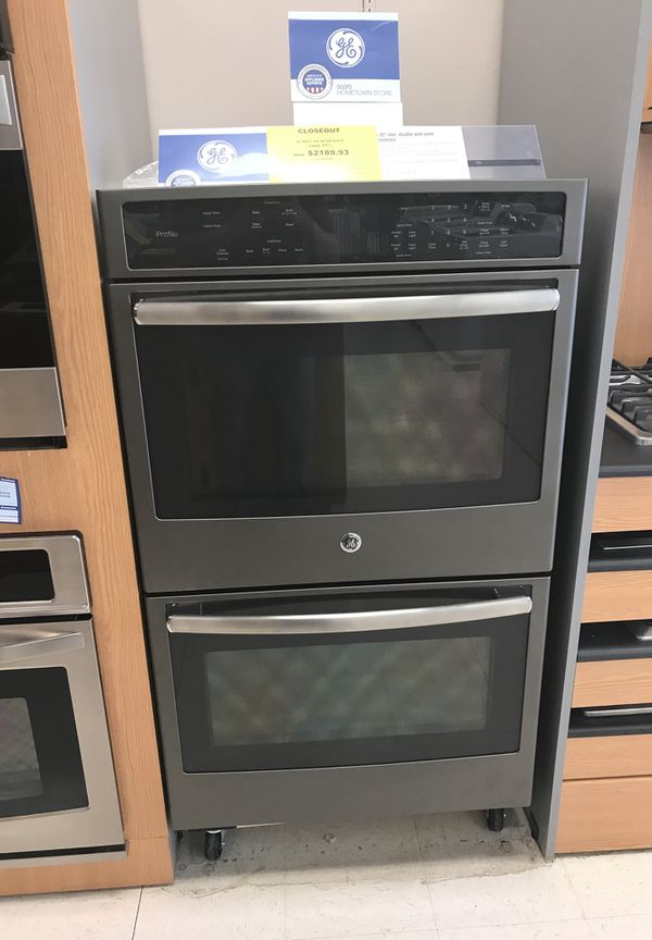 """GE Profile 30"""" electric double wall oven"""