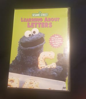 Sesame Street Learning About Letters DVD for Sale in Columbia, SC