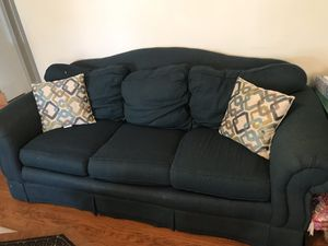 Green couch for Sale in Rolla, MO