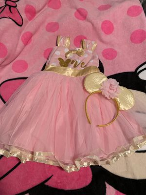 Minnie Mouse 1st Birthday Dress NEW 12 months for Sale in Franklin Park, IL
